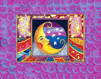 La Luna 1 Poster by John Keaton