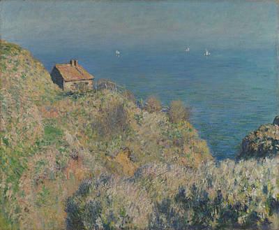 La Maison Du Pecheur  Varengeville Poster by Claude Monet