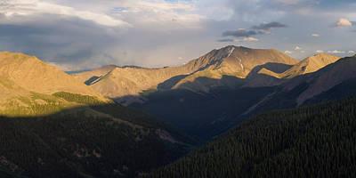 La Plata Peak Panorama Poster by Aaron Spong