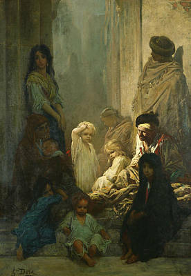 La Siesta, Memory Of Spain Poster by Gustave Dore