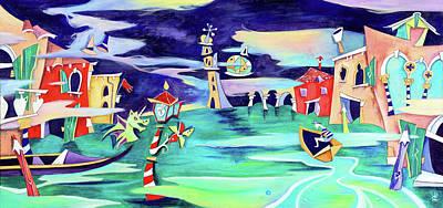 La Tempesta - Grand Canal Palace Poster by Arte Venezia