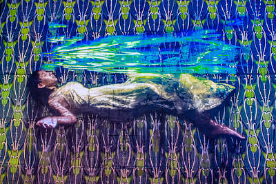 Lady In The Water Poster by Colleen Kammerer
