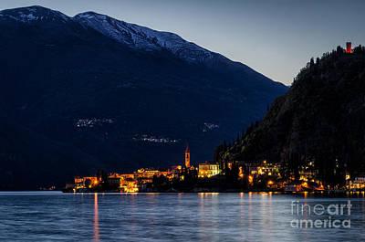 Lago Di Como Varenna Poster by Marco Saracco