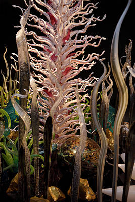 Laguna Torcello Glass Garden By Dale Chihuly At The Rom Toronto Poster by Reimar Gaertner