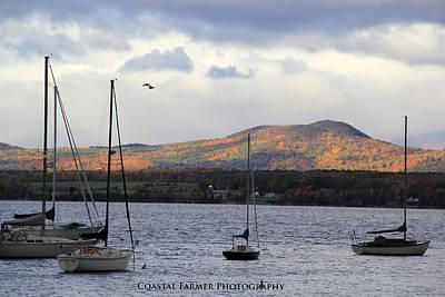 Lake Champlain Poster by Becca Brann