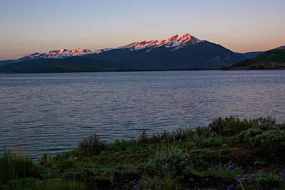 Lake Dillon Sunrise Poster by Aaron Spong
