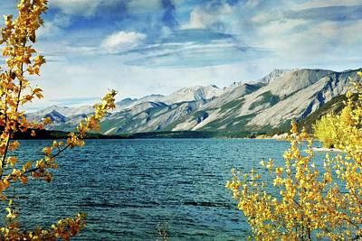 Lake Lake Poster by Marty Koch