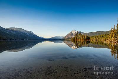 Lake Wenatchee In Washington State. Poster by Jamie Pham