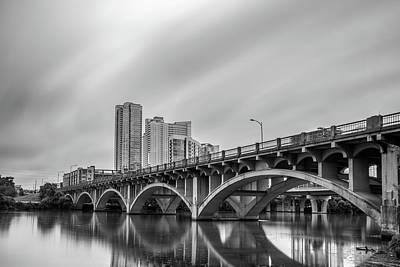 Lamar Bridge In Austin, Texas Poster by Todd Aaron