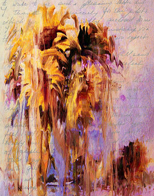 Lament Of Sunflowers Poster by Georgiana Romanovna
