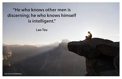 Lao Tzu - 5 Poster by Mark Slauter