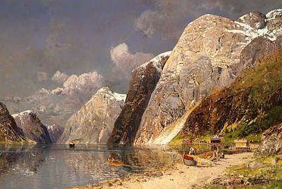 Large Fjords Poster by Mountain Dreams