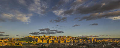 Late Afternoon Avila Poster by Joan Carroll