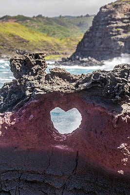 Lava Heart Poster by Pierre Leclerc Photography