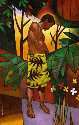 Lavalava Poster by Douglas Simonson
