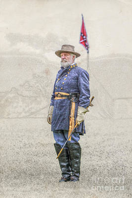 Lee At Appomattox Poster by Randy Steele