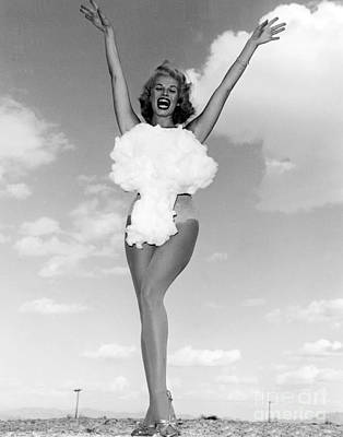 Lee Merlin, Miss Atomic Bomb, 1957 Poster by Science Source