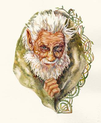 Leprechaun  Poster by Peggy Wilson