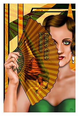 L'esprit Et De L'art Poster by Troy Brown
