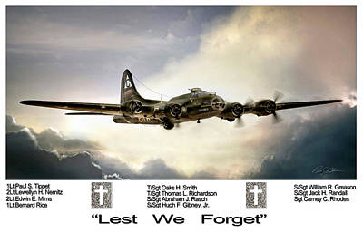 Lest We Forget Poster by Peter Chilelli