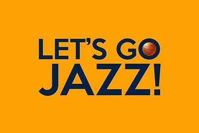 Let's Go Jazz Poster by Florian Rodarte