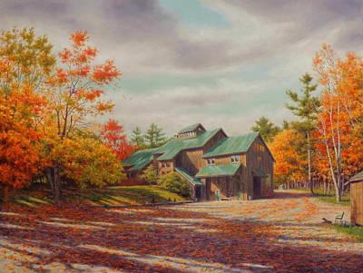 Levon Helm Studios Legendary Ramble Barn Poster by Barry DeBaun