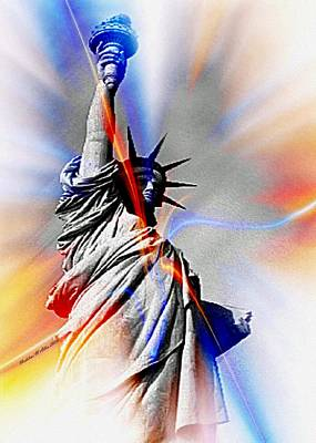 Liberty Poster by Madeline  Allen - SmudgeArt