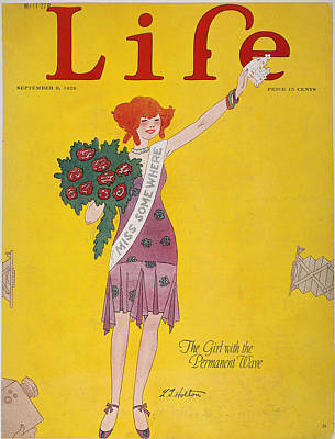 Life Cover, 1926 Poster by Granger