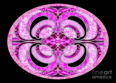 Lifelike Mandala Abstract Macro Transformations By Omashte Poster by Omaste Witkowski