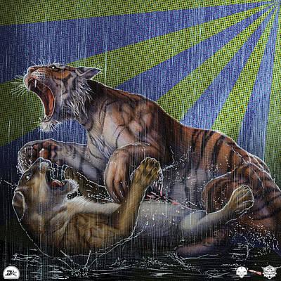 Liger  Release Poster by David Starr
