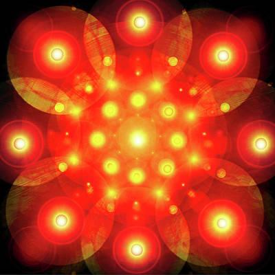 Light-mandala No. 02 Poster by Ramon Labusch