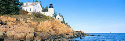 Lighthouse At Bass Harbor Head, Acadia Poster by Panoramic Images