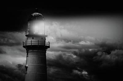 Lighthouse Poster by Bob Orsillo