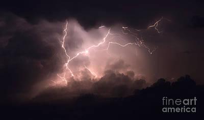 Lightning 2 Poster by Bob Christopher