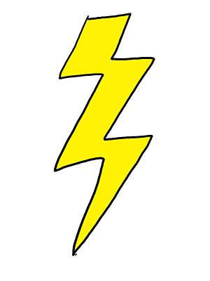 Lightning Bolt - Scott Pilgrim Vs The World Poster by Paul Telling