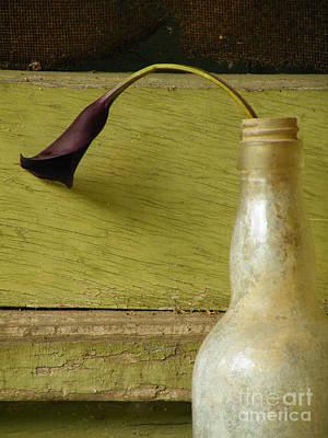 Lily Of The Bottle Poster by Joe Jake Pratt