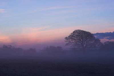 Limerick Foggy Sunrise Ireland Poster by Pierre Leclerc Photography