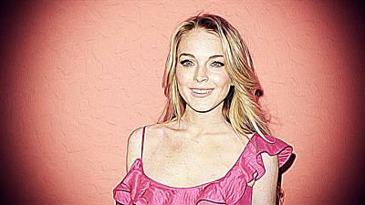 Lindsay Lohan Poster by Iguanna Espinosa