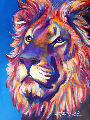 Lion - Cecil Poster by Alicia VanNoy Call