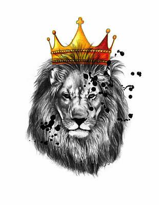 Lion King  Poster by Mark Ashkenazi