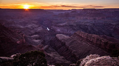 Lipan Point - Grand Canyon, United States - Landscape Photography Poster by Giuseppe Milo