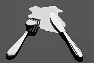 Liquid Food Poster by Gert Lavsen