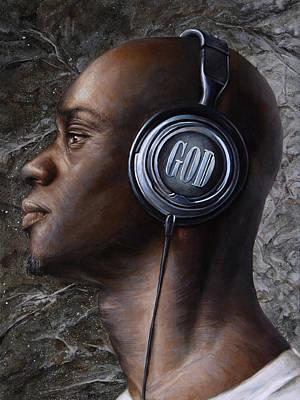 Listen 5  Poster by Brent Schreiber