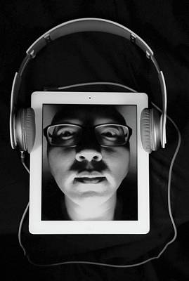 Listen To Inner Voice Poster by Hyuntae Kim
