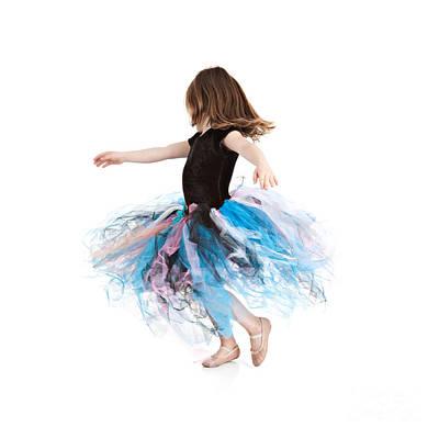 Little Ballerina Poster by Cindy Singleton