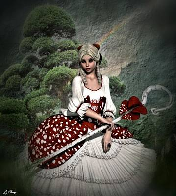 Little Bo Peep Poster by G Berry