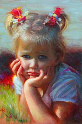 Little Miss Sunshine Poster by Talya Johnson