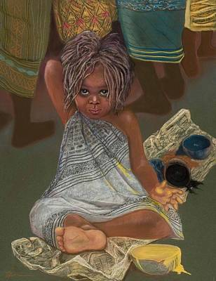 Little Painter Poster by Pamela Mccabe