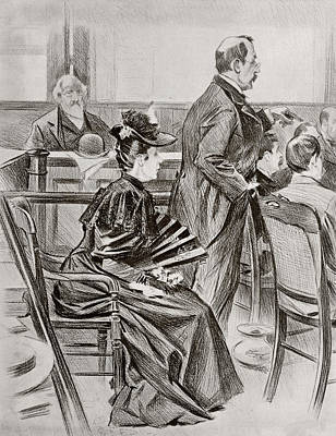 Lizzie Andrew Borden, 1860 Poster by Vintage Design Pics