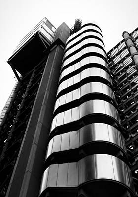 Lloyds Of London Poster by Martin Newman